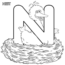 Small Picture Elmo Alphabet Coloring Pages Coloring Pages