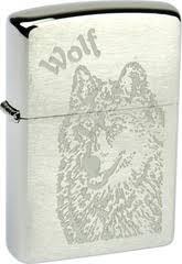<b>Зажигалка Zippo Wolf</b> (200)