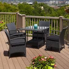 pcs patio rattan furniture