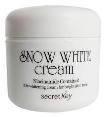 Купить <b>крем для лица осветляющий</b> Snow White Cream 50г Secret ...