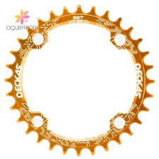 Deckas 104BCD <b>Oval</b> Narrow Wide Chainring MTB Mountain <b>Bike</b> ...