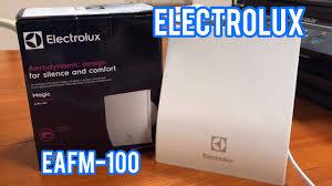 <b>Electrolux</b> EAFM-100 | <b>Вытяжной вентилятор</b> в ванную - YouTube