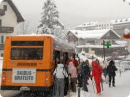 %name Attivo da domani il servizio SkiBus in Valle di Fiemme