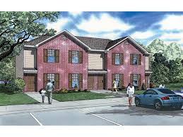 Donoho Place  Story Fourplex Plan D    House Plans and More