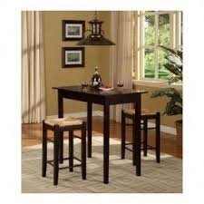 dining room pub style sets: kitchen table set  piece modern pub style counter height