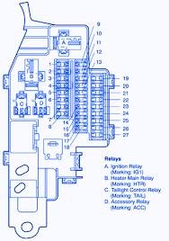 2000 toyota avalon fuse box 2000 wiring diagrams