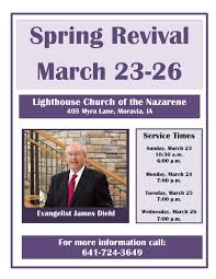 dr jim diehl in revival at moravia lighthouse iowa district 27 2014