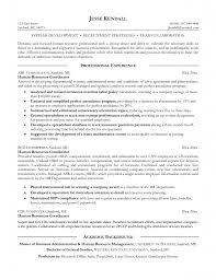 resume examples human resources manager resume examples human resume examples human resources training and development pdf sample resume of human resources