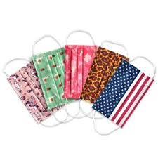 Planet Earth <b>Kids Disposable</b> Face <b>Masks</b> for Girls, Assorted Colors ...