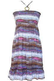 Multicolor <b>Bohemian</b> Style <b>Print</b> Halter <b>Sun</b> Dress   Purple summer ...