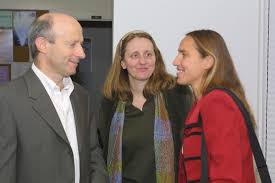 Bill Gelbart, Ann McDermott and Dorothee Kern . - WMG_McDermott_Dorothee_Kern