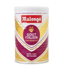 Купить <b>Кофе молотый</b> фасованный <b>Malongo Gout</b> Italien 250 гр ж/б