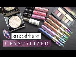 <b>SMASHBOX</b> *<b>CRYSTALIZED</b>* COLLECTION: Swatches, Application ...