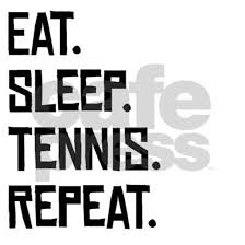 <b>Eat Sleep Tennis Repeat</b> Mousepad by Ken_G - CafePress