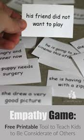 best ideas about good adjectives personality empathy game a tool to teach kids to be considerate printable