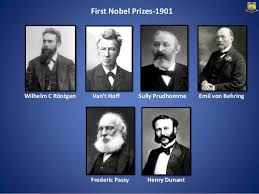 「1901, the first nobel prize award ceremony」の画像検索結果
