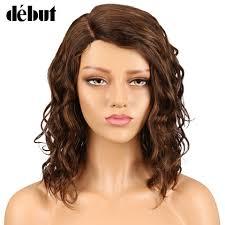 <b>Debut</b> Lace <b>Wig Human Hair Wigs</b> For Black Women Part Lace Bob ...