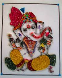 lord ganesha paper quilling lord and ganesha lord ganesha