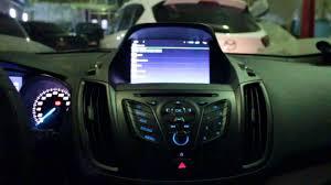 Замена штатной магнитолы Ford Kuga 2 Форд Куга RedPower ...