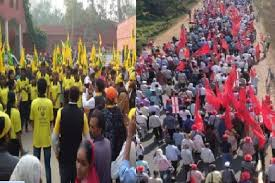 Image result for Kisan Mukti March
