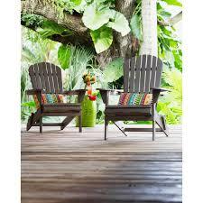 Beachcrest Home Cuyler <b>Solid</b> Wood Folding <b>Adirondack Chair</b> ...