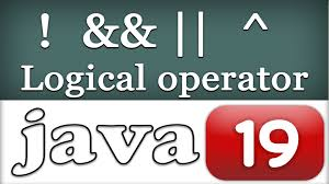 logical operators in java programming video tutorial for 19 logical operators in java programming video tutorial for beginners
