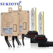 <b>SUKIOTO</b> 55W CANBUS NO Error <b>Xenon</b> H7CR <b>HID Kit Headlight</b> ...