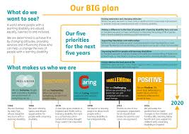 mencap shows how to successfully launch a big plan influence our big plan one pager