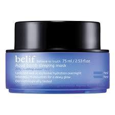 <b>belif</b> AQUA BOMB Ночная увлажняющая маска для лица купить по ...