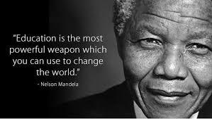 Education Quotes Nelson Mandela - nelson mandela quote 1 610x707 ... via Relatably.com