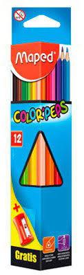 Купить <b>Карандаши цветные Maped</b> 183213 <b>Color</b>`Peps трехгран ...