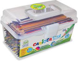 <b>Carioca Набор цветных карандашей</b> Tita 120 шт — купить в ...