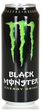 Купить <b>Напиток энергетический Black</b> Monster Energy, 449 мл с ...
