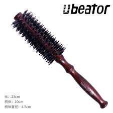 Mane <b>comb</b> Brown hair <b>comb brush</b> Wooden handle <b>Household</b> ...