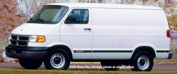 dodge b series vans ram van and ram wagon 2000 dodge ram van
