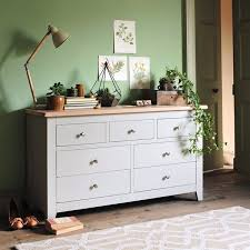 bedroom furniture set country rattan drawers