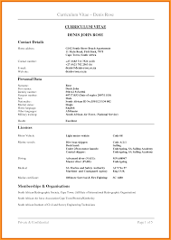 cv format in sa letter format mail cv format in sa cv example south africa curriculum vitae examples south africa 213 png