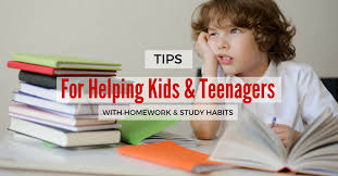 Tips For Helping Kids  amp  Teens With Homework and Study Habits
