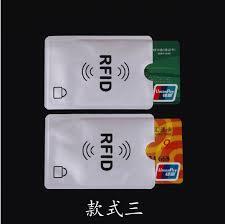 <b>5 pcs</b>/<b>lot</b> Card Minder <b>RFID</b> Blocking Contactless Debit Credit Card ...
