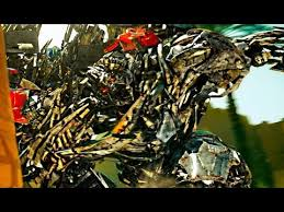 Transformers revenge of the fallen - Optimus prime <b>vs</b> The fallen and ...