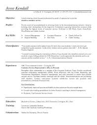 Example Resume  Sample Customer Service Resume Objectives  sample     Binuatan     Example Resume  Nice Sample Customer Service Resume Objectives With Education And Training Also Experience