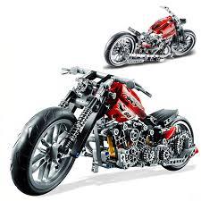 378PCS Racing Motorcycle <b>Model Building Kits Compatible</b> With ...