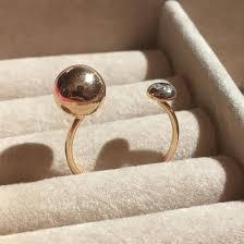 Золотое кольцо BUBBLES в стиле Dior / Геометрия – купить в ...
