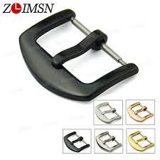 <b>ZLIMSN</b> Unisex Stainless Steel Fashion Wrist Watch Buckle 16 18 ...