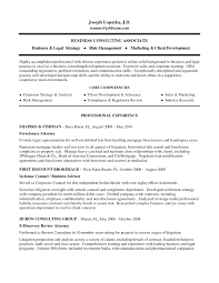 example business consulting associate and core competencies for attorney resume sample senior attorney resume