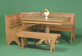 corner breakfast nook from dutchcrafters amish furniture amish corner breakfast nooks