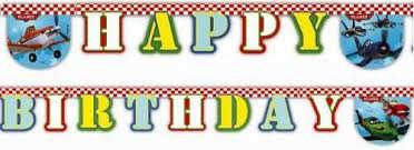 <b>Гирлянда</b>-<b>буквы Procos Самолеты Happy</b> Birthday 1 шт 26072013 ...
