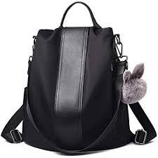 Charmore <b>Women Backpack</b> Ladies Rucksack Waterproof Nylon ...