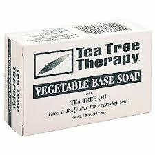 Tea Tree Therapy <b>Eucalyptus Soap</b> Vegetable Base <b>3.5</b> Oz for sale ...