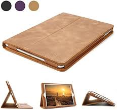 iPad 9.7 Leather Case, BoriYuan Vintage Genuine ... - Amazon.com